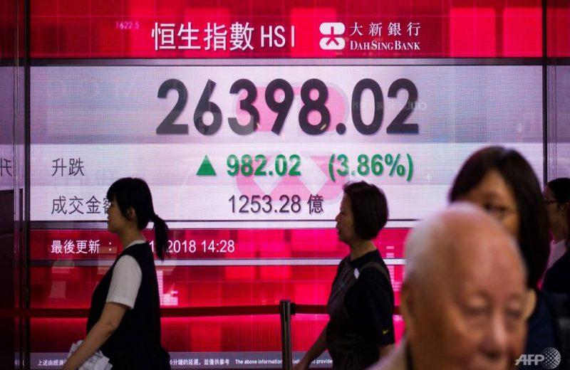 الأسواق الآسيوية متباينة وسط حالة عدم اليقين بشأن البريكست وحرب التجارة