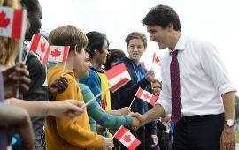 الدولار الكندي يقفز بعد فوز حزب رئيس الوزراء جاستن ترودو في الانتخابات