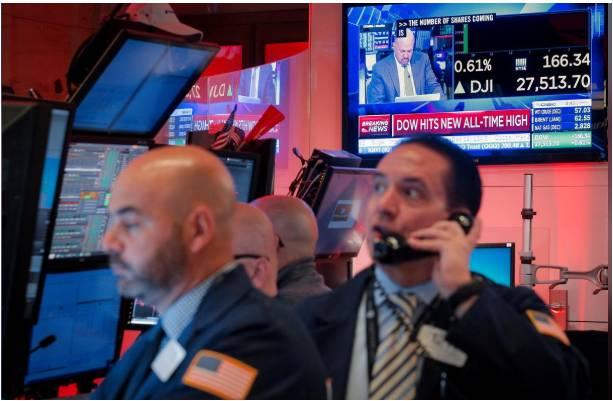 الأسهم الأمريكية تتحول للهبوط وسط ترقب التطورات التجارية