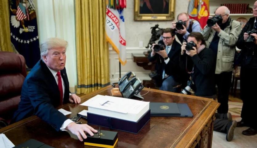عجز الموازنة الامريكية في عهد ترامب تتفاقم