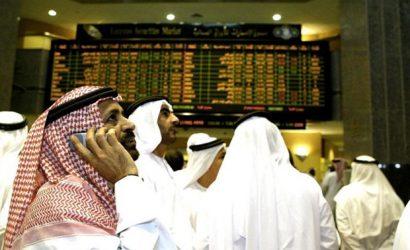 السوق السعودي والمؤشرات الخليجية تكتسي باللون الأخضر مع هدوء التوترات الجيوسياسية
